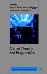 Game Theory and Pragmatics Book